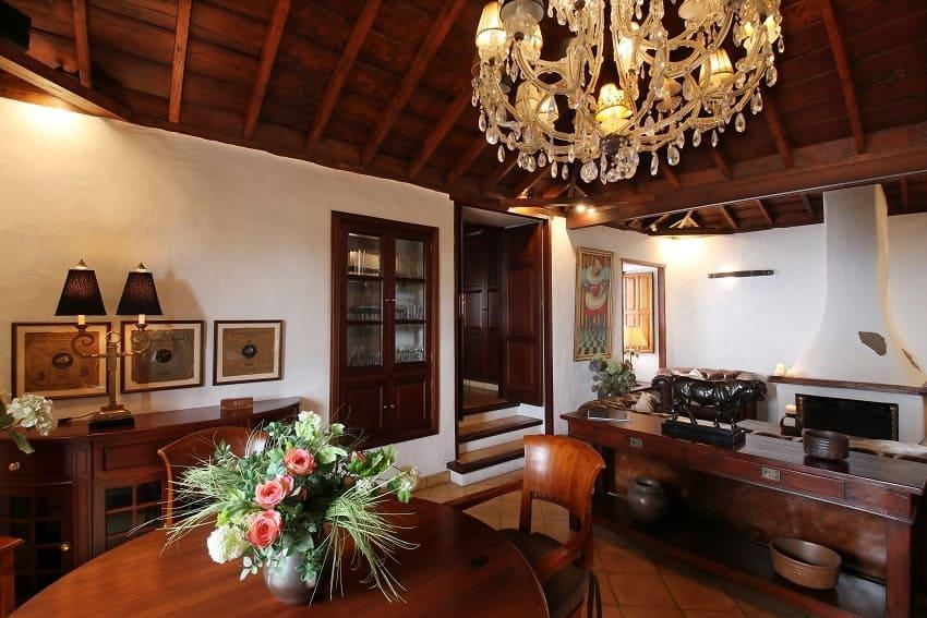 Wohnbereich, Finca Esperanza, La Palma