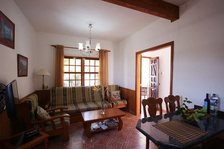 Living Area, Finca Los Dos Patos B, Finca La Palma