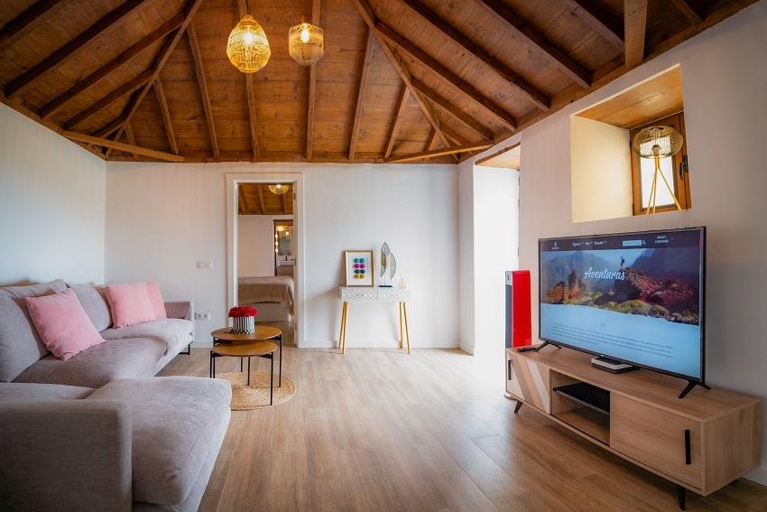 Living Area, V&C Luxury Village, Holiday Cottage Los Cancajos