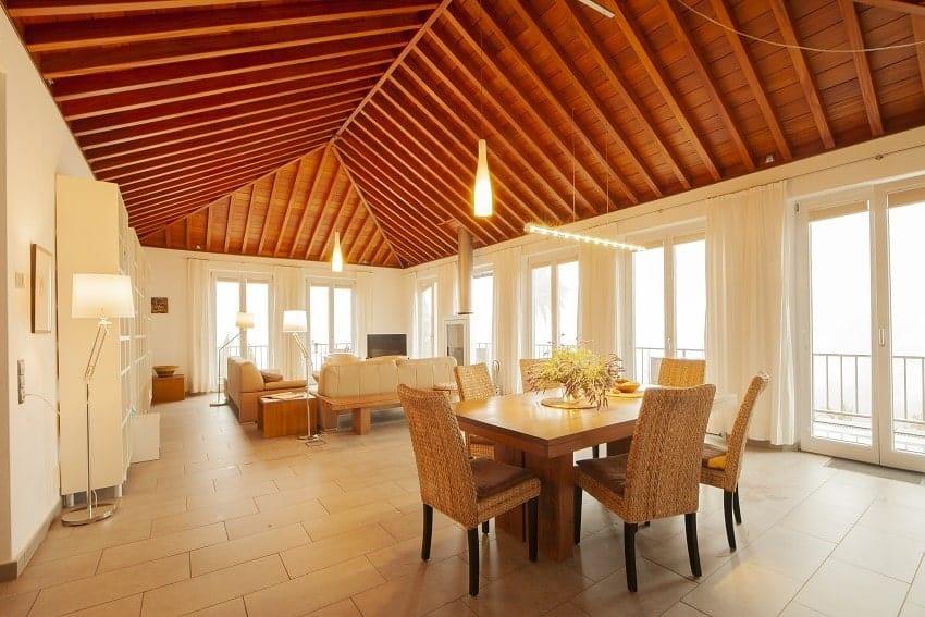 Living Area, Villa Alegranza, Villa Tijarafe with Pool