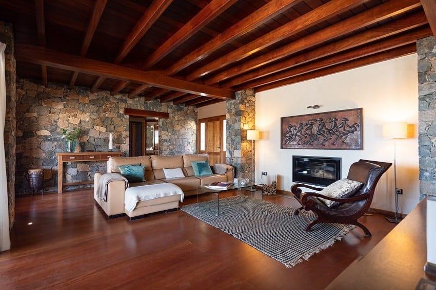 Living Area, Villa Atlanntes