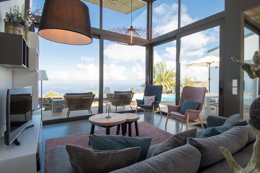 Living Area, Villa Hahn, Villa La Palma