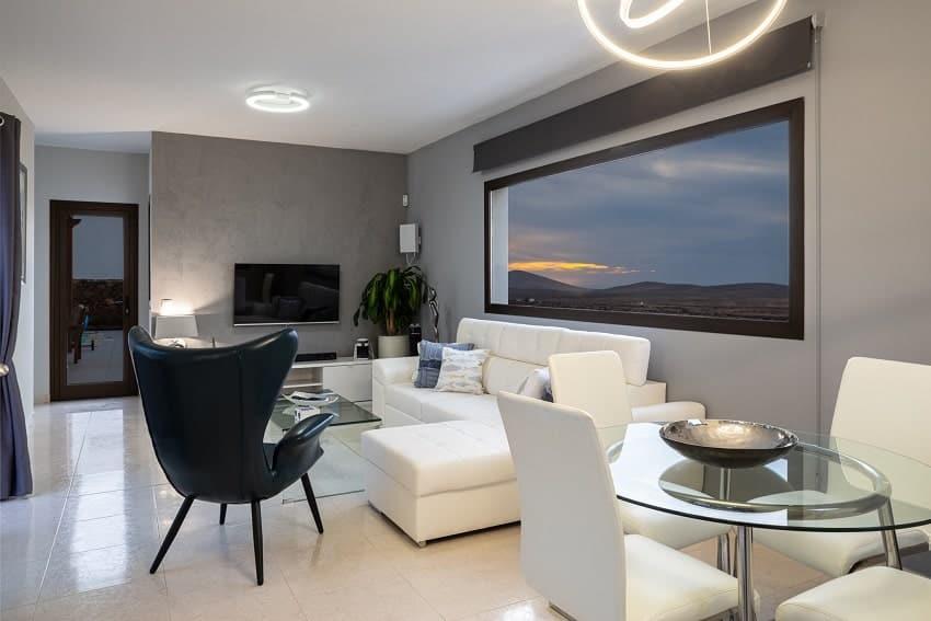 Wohnbereich, Villa Kira, Ferienhaus Fuerteventura