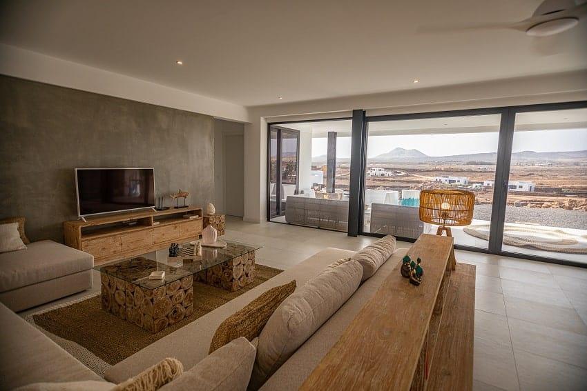Living Area, Villa Odo, Fuerteventura