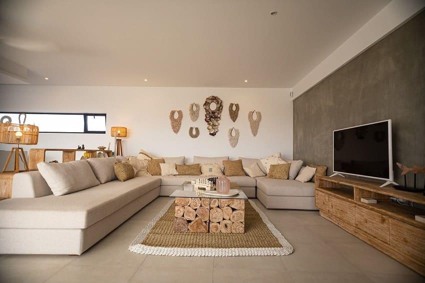 Living Area, Villa Odo, Villa Fuerteventura