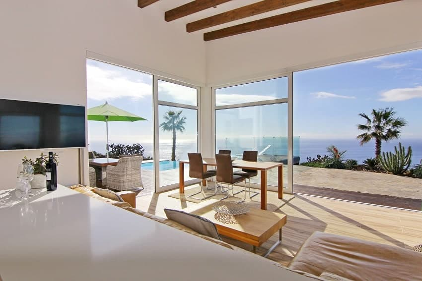 Living Area, Villa Perla del Mar, Villa La Palma