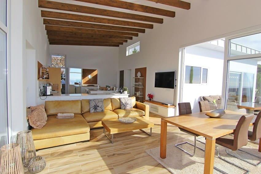 Living Area, Villa Perla del Mar, Villa Puntagorda, La Palma