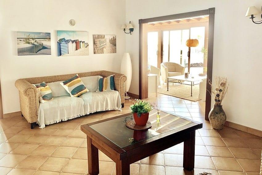 Wohnbereich, Villa Tajuya, La Palma