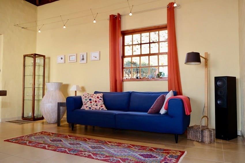 Living Area, Villa Tigotan, La Palma