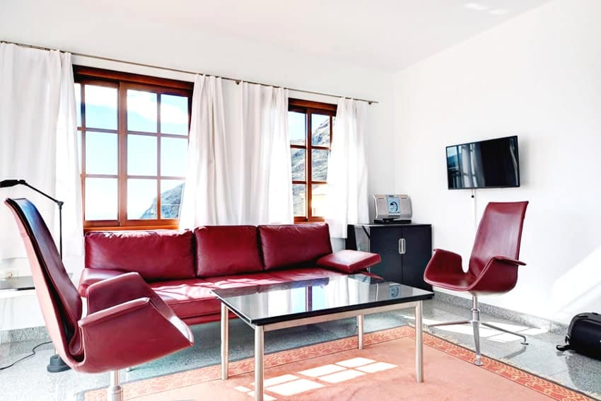 Living Room, Casa Vista Caldera, Country House La Palma