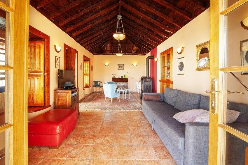 Salón, Casa Rural Tijarafe