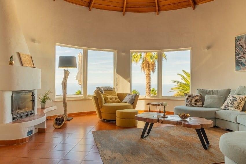 Wohnzimmer, Villa Don Miguel, Villa La Palma
