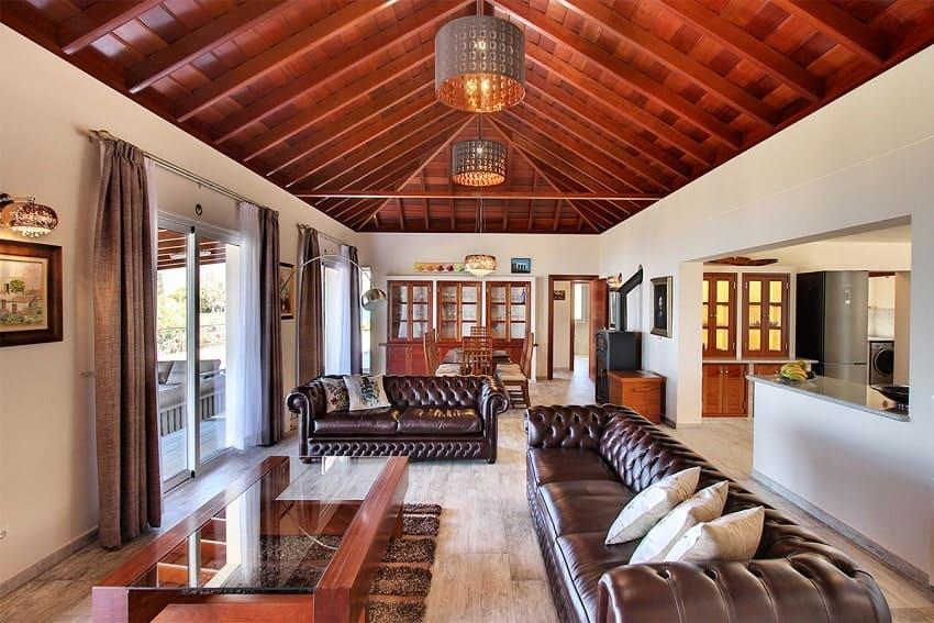 Living Room, Villa Royal, Villa La Palma