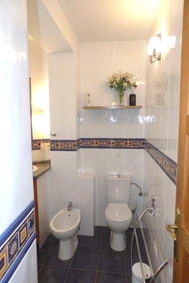 Spain - Canary Islands - La Palma - Tajuya - Casa La Palmera - Bathroom with bidet