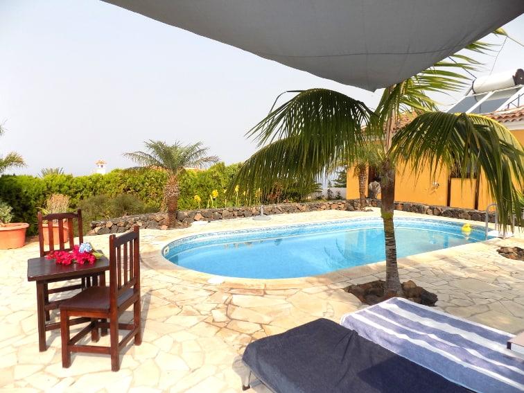 Spain - Canary Islands - La Palma - La Punta - Casa Van de Walle - Private swimming pool with ocean view