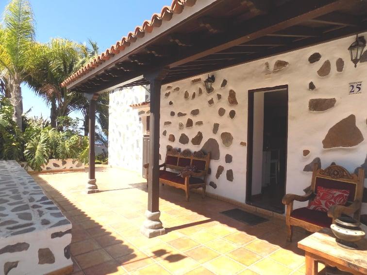 España - Islas Canarias - La Palma - La Punta - Casa Rincón del Atlántico - zona de entrada