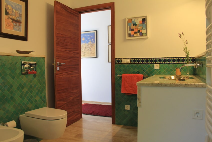 Spain - Canary Islands - La Palma - Puntagorda - Villa El Cielo - Bathroom