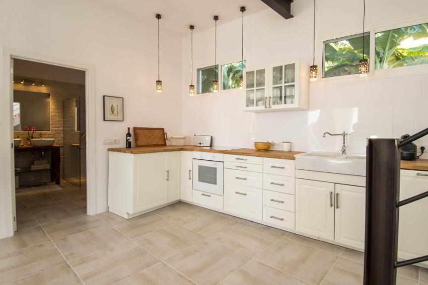 España - Islas Canarias - La Palma - Tazacorte - Casa Alma Marina - la cocina bien equipada